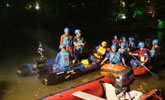 桂林龙舟翻船17人遇难:划龙舟人员未穿救生衣
