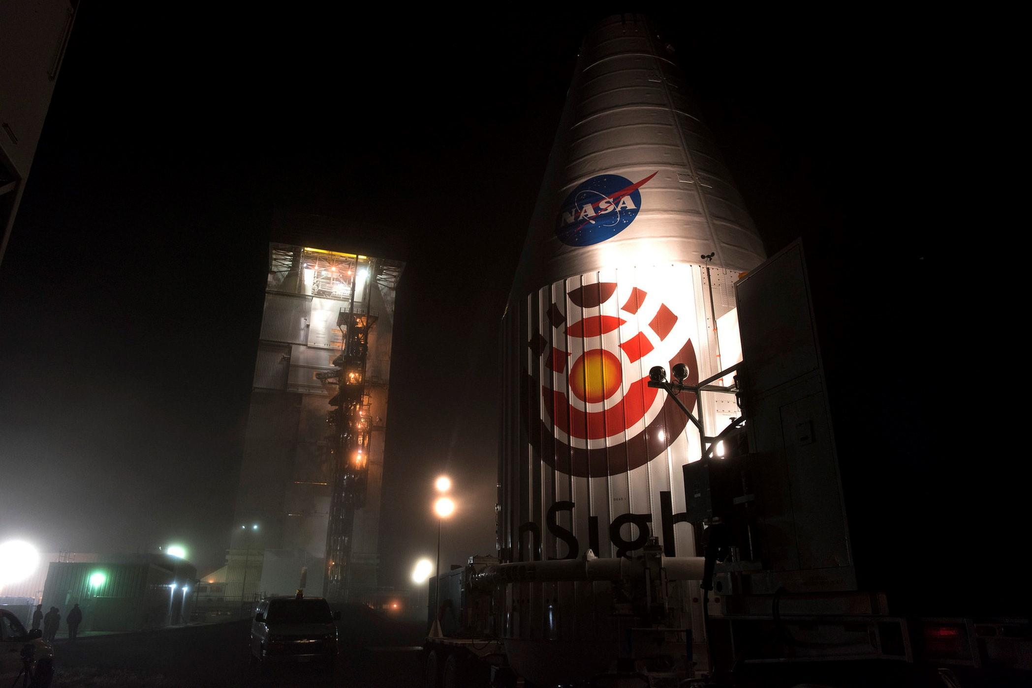 """NASA今天下午发射""""洞察号""""飞船 11月26日飞抵火星"""