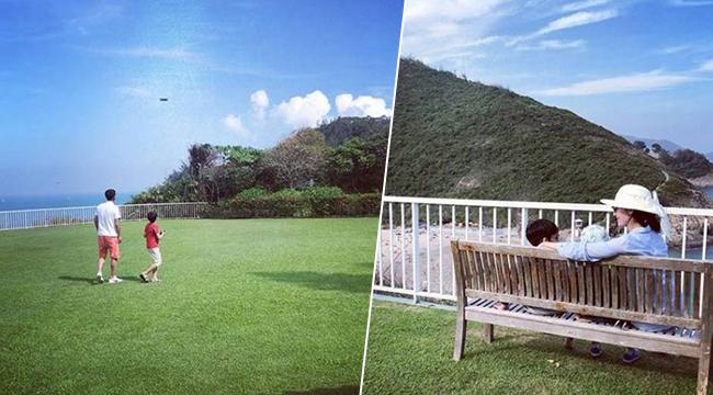 这不是公园草坪 这是李嘉欣家的豪宅…