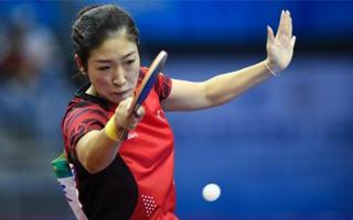 世乒半决赛中国女队横扫奥地利队晋级四强
