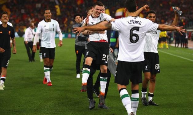 罗伯逊:盼夺欧冠 在利物浦的旅程令人难以置信