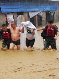 广西连续四天强降雨后