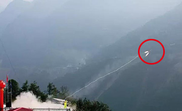中国最难建的桥!动用两枚火箭 世界首创