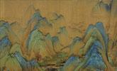 《千里江山图》绢质残印接受科技检测 结果出来了