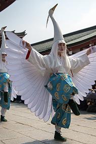 日本最大传统祭祀庆典举行
