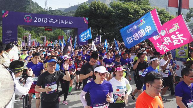 一天内八场马拉松开跑 体育营销的故事越来越好讲
