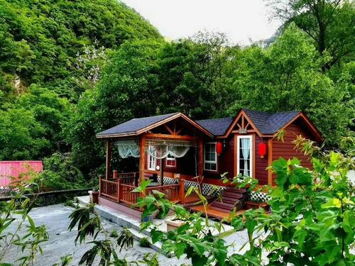 西峡老界岭木屋别墅成特色 带你回归自然、享受惬意