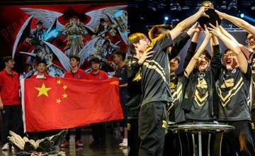 """""""电竞之夜!5.20中国战队双双获得国际赛冠军"""