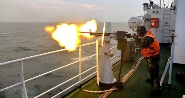 子弹比鸡蛋大!武警广东海警海上射击场面罕见曝光