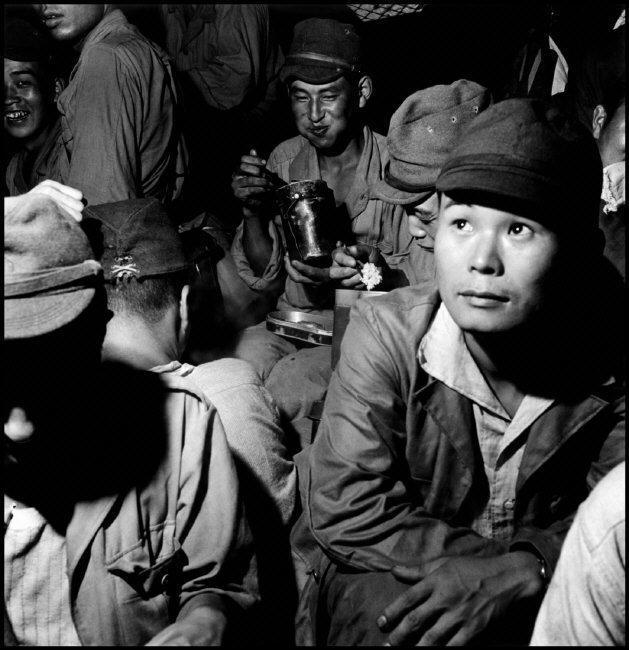 被原子弹送回广岛的日本兵