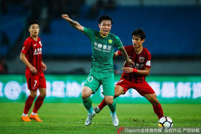 张稀哲:赢球让上港没话说 他们以为没奥古就能赢我们