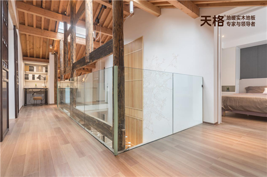 天格地暖实木地板 设计你的高级梦想生活