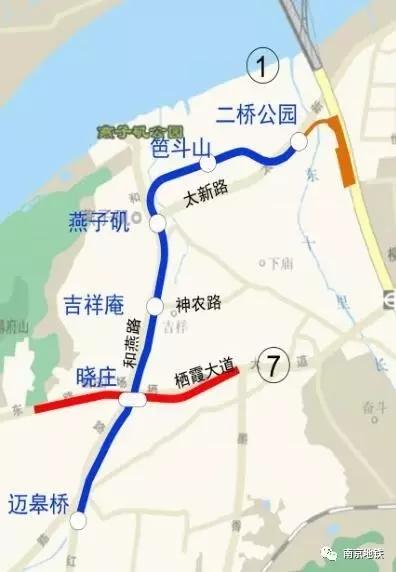 南京地铁三条线路建设进展 看看有没有你家门口的那条