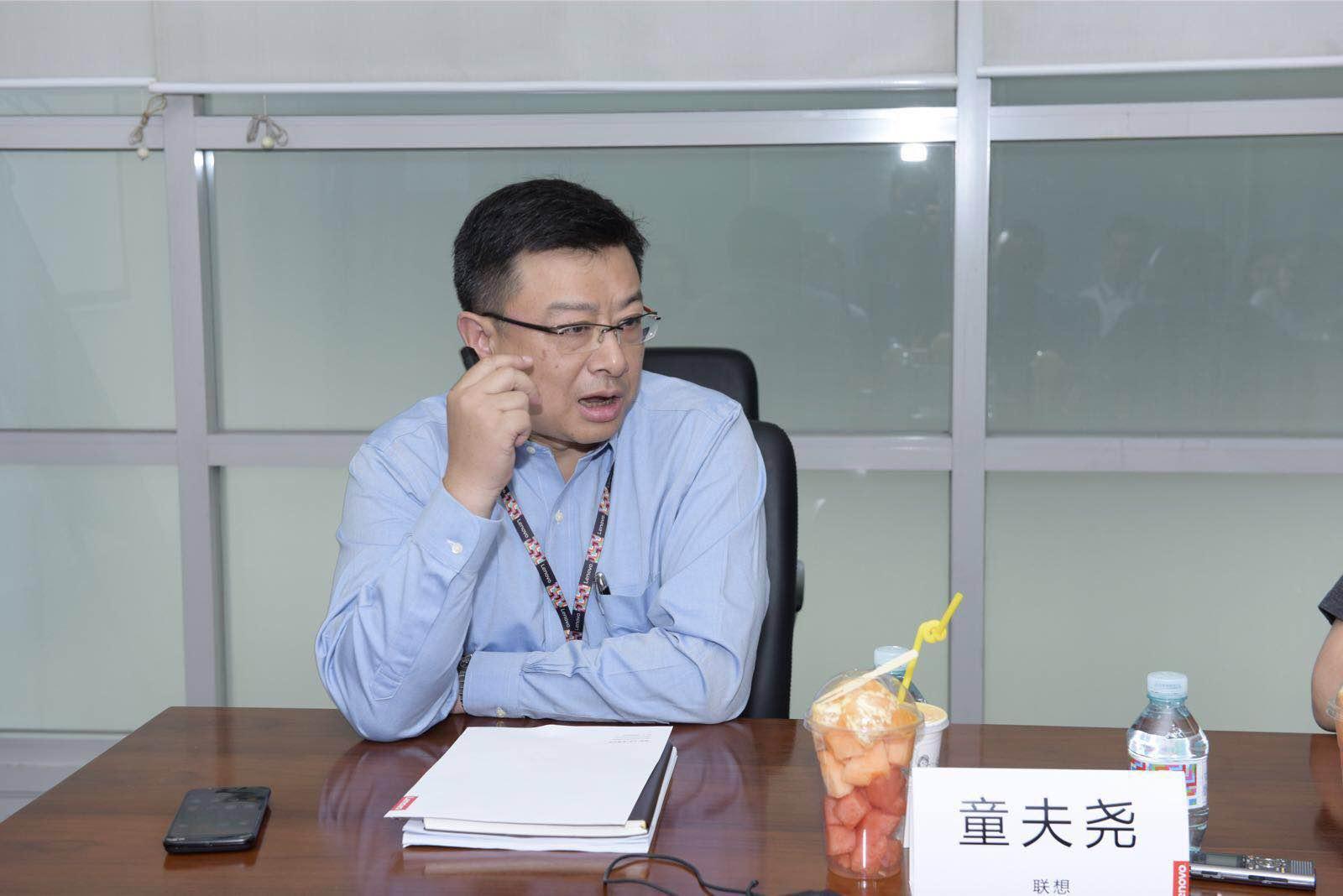 前线 | 对话童夫尧:联想DCG中国区不看重市场份额,看重利润