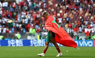 摩洛哥成首支出局队 球员赛后悲情谢场