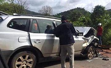 柬埔寨亲王遇车祸受重伤 王妃去世
