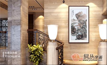 家庭装饰画如何选择 不同款式挂出百变家居
