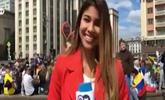 女记者直播俄罗斯世界杯 镜头前遭陌生男袭胸强吻