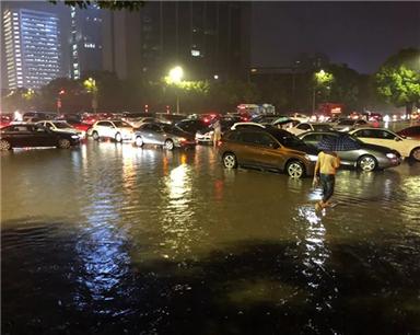 入梅暴雨如约而至 杭州为何很受伤?