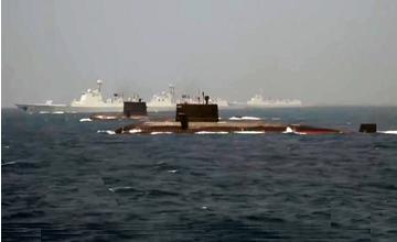 "052D搭档最强AIP潜艇 中国在东海要有大动作?"" width="
