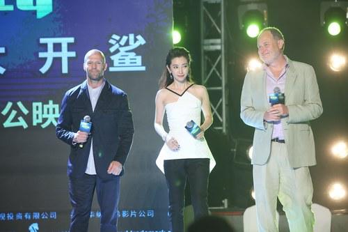 """届上海国际电影节  被无数网友和观众称为""""打遍全世界""""的杰森-斯坦森"""