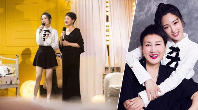 张凯丽张可盈母女20年首次同台 牵手献唱毕业歌会