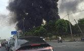 杭州一仓库发生火灾 37辆消防车赶赴现场