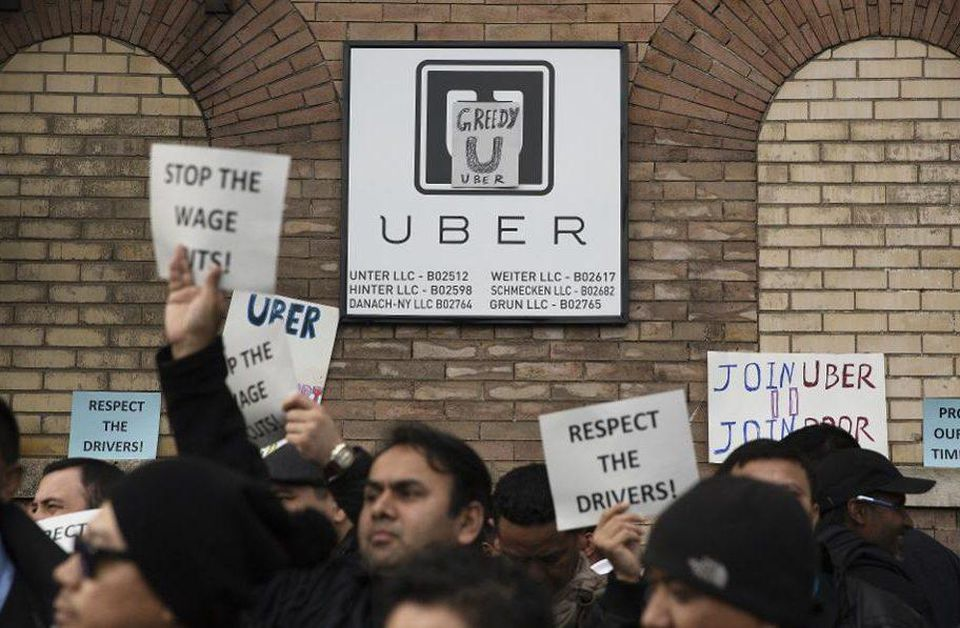 纽约考虑为网约车司机制定最低工资制度:每小时110块