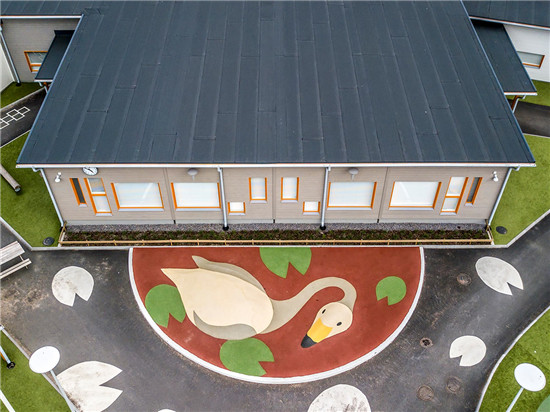 芬兰第一所北欧白天鹅认证幼儿园诞生,选用涂料为芬琳漆