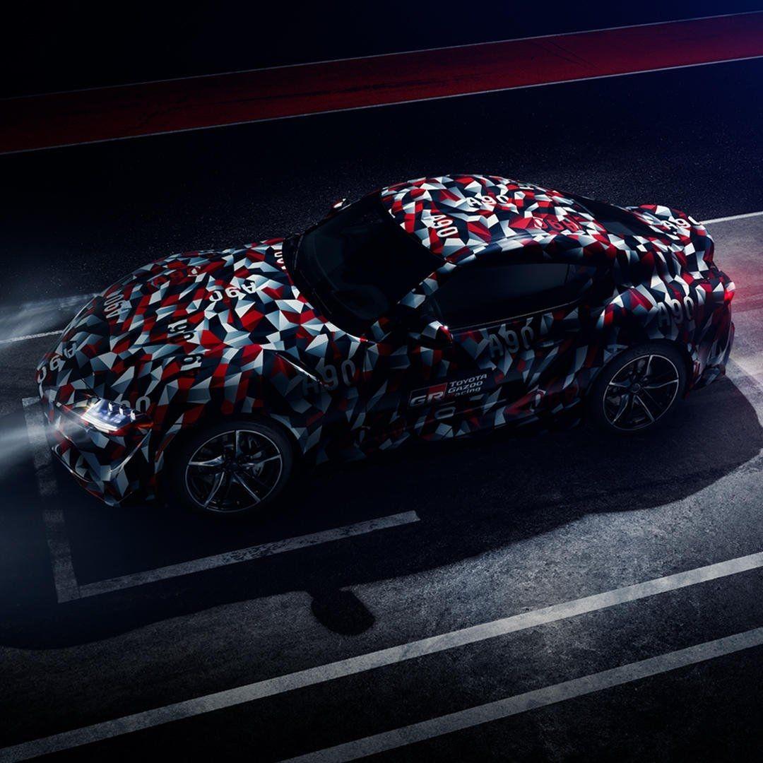 丰田发布全新Supra预告图 将于古德伍德速度节亮相
