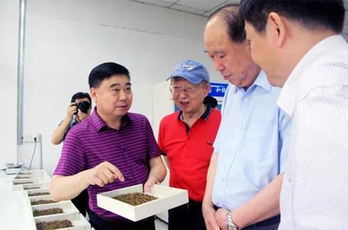 周国富率省、市政协考察团调研川茶集团