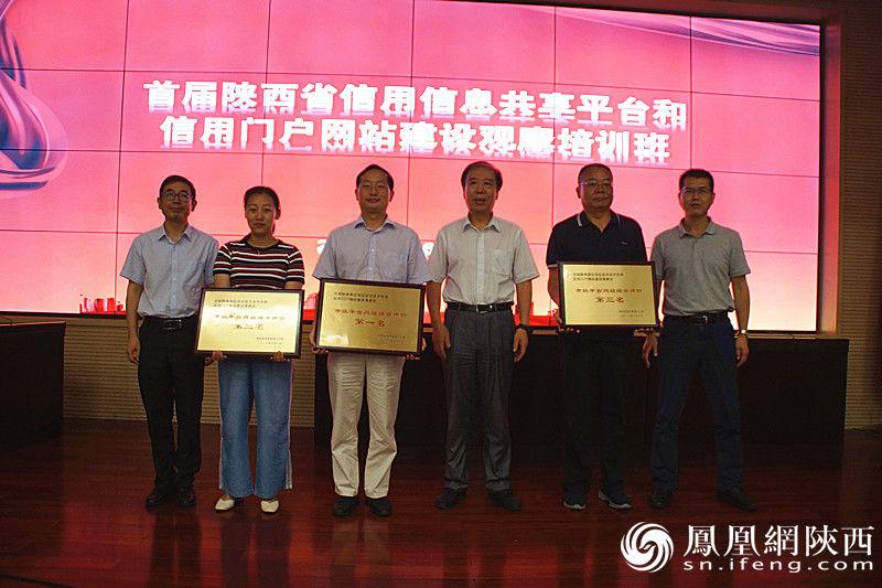 首届陕西信用信息共享平台和信用门户网站建设观摩会在西安召开(图2)
