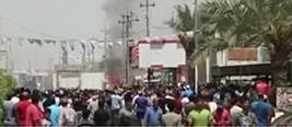 示威持续不断!伊拉克南部爆发大规模示威!