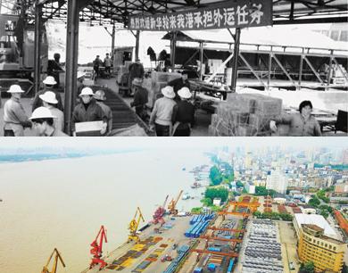 九江港的变迁