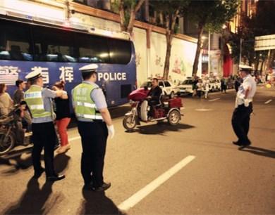 哈尔滨交警