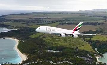 无人机航拍A380起飞惹争议
