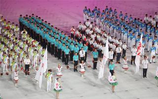 第十五届省运动会暨第八届残运会在肇庆开幕