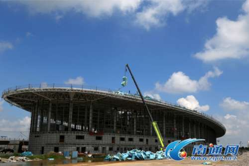 南通机场航站区改扩建工程年底竣工