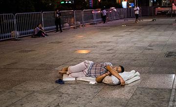 凌晨三点的杭州