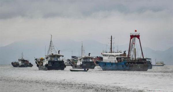 南海伏季休渔期结束 广东近四万艘渔船出海
