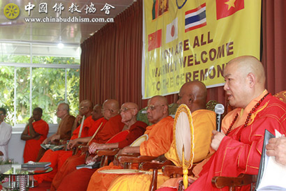 常藏法师率团出席斯里兰卡佛牙节等庆典活动_斯里兰卡-佛牙-佛教-代表团-暹罗