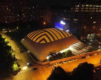 """4536平方米!杭州市中心多了一个""""枕头""""体育馆"""