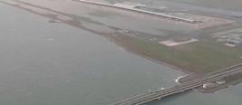 遭台风重创的日本关西机场恢复部分航线