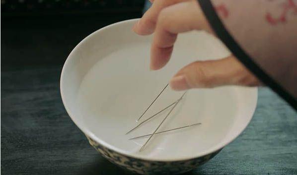 圆包针织法图解步骤