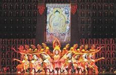 曾登春晚的民族舞剧《唐卡》亮相丝路国际艺术节