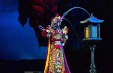 丝绸之路国际艺术节 京剧《大面》亮相西安