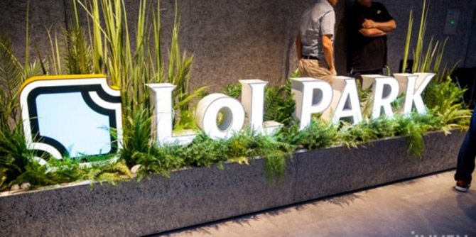 """拳头在韩国开了一家电竞馆 命名""""LOL PARK"""""""