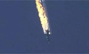 俄军机被击落