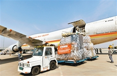 西咸国际机场货邮吞吐量增速居十大枢纽机场之首