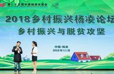 2018乡村振兴杨凌论坛举办 推动城乡统筹互动发展